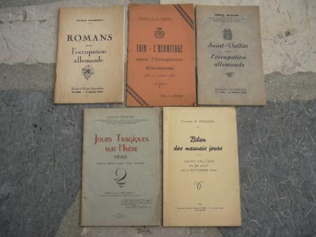 Divers petites brochures des années 40