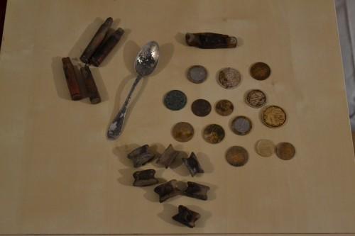 fouille vercors, histoire du vercors, détecteur de métaux, ace 250, pièces de fouille, pièce, objets de fouille, terre, détection, métaux