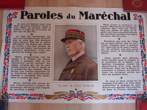 vercors,autrans,ffi,autrans ffi,vercors résistance,pétain,maréchal pétain, laval,ww2,wwII,39 45,allemand,occupation,collaboration