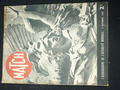 L'avenir du plateau central 1939, Match, l'illustratin, le mirroir, brassards FFI, guerre 39 45, ww2, brassard, FTPF, croix rouge, DP, gendarmerie, insigne, médaille, décoration, militaria, militaire, résistance, vercors, maquis