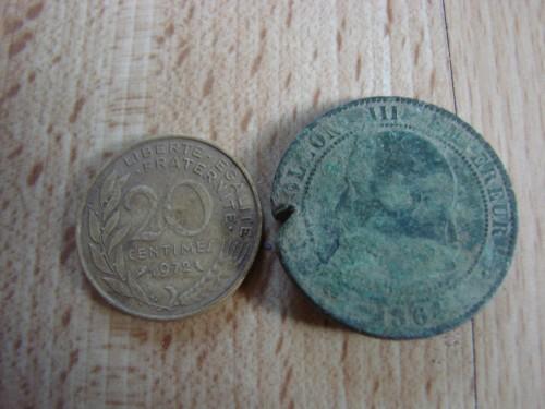 pièces anciennes, fouille, vercors,résistance,détecteur de métaux,pièces de monnaie,