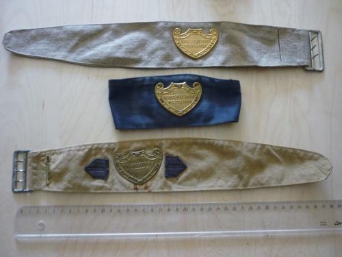 brassards FFI, guerre 39 45, ww2, brassard, FTPF, croix rouge, DP, gendarmerie, insigne, médaille, décoration, militaria, militaire, résistance, vercors, maquis